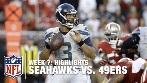 seahawks  ers week  highlights nfl youtube
