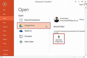 How to edit google drive files in microsoft powerpoint for Access google drive documents