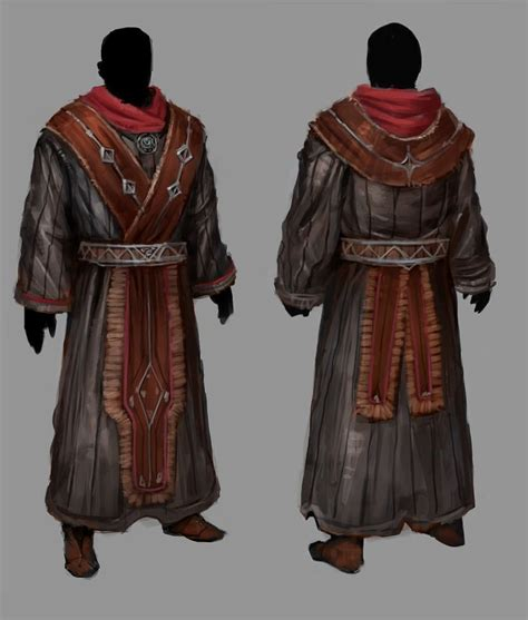 robes mage larp fantasy costume wizard priest fire outfits costumes dress gothic armor character robe wizards clothing artwork cleric cool