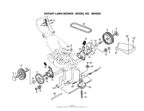 Ayp Electrolux Parts Diagram For Rotary Lawn