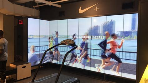 nikes  soho store showcases  power  experience
