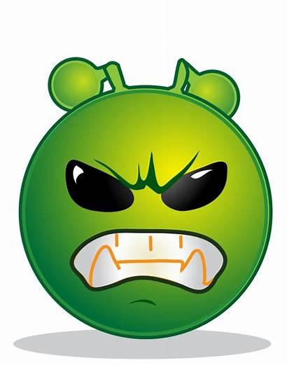 Grrr Smiley Svg Alien Pixels Wikimedia Commons