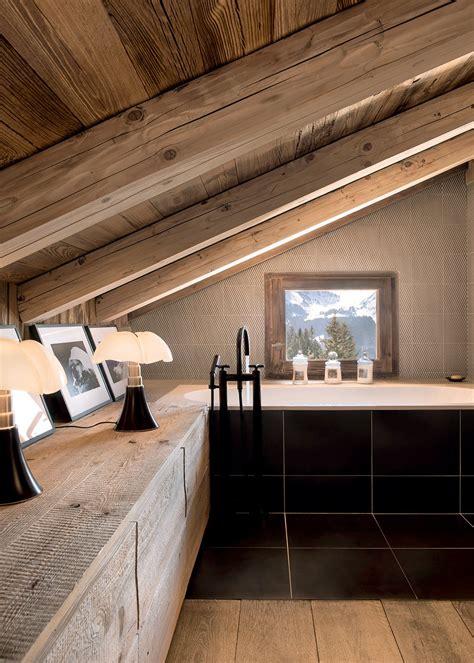 cuisine autrichienne salle de bain en bois maison