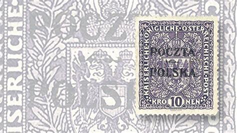 Austria Stamp Overprinted 'poczta Polska' Tops ,000 In