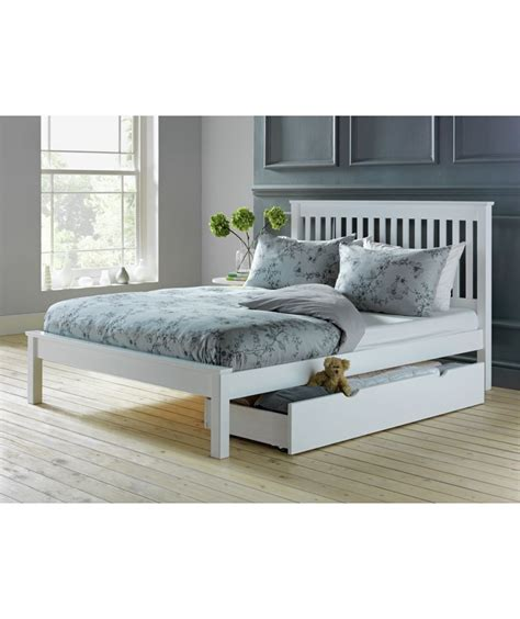 White Beds For Sale by Buy Aspley Bed Frame White At Argos Co Uk Your
