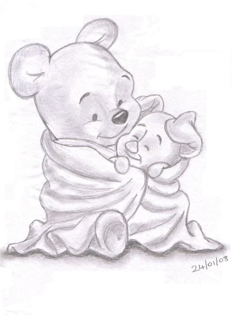 disney pencil drawings images  pinterest