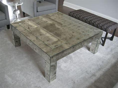 Antique Mirror Coffee Table