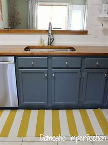 faqs domestic imperfection With what kind of paint to use on kitchen cabinets for white birch candle holders