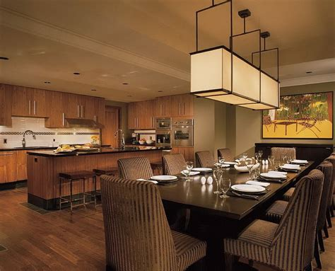 dining room  kitchen interior combo ideas