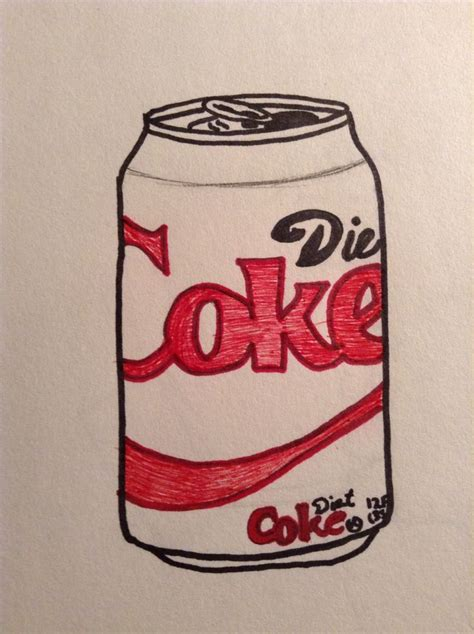 colored drawing   diet coke  find