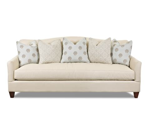 Klaussner Leighton D31300 S Contemporary Stationary Sofa