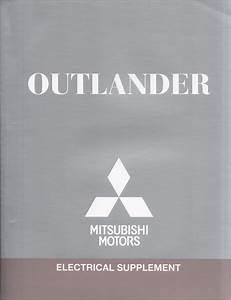 2012 Mitsubishi Outlander Wiring Diagram Manual Original