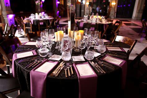 Glamorous Purple Baltimore Wedding