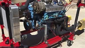 Pontiac 400 Engine Running On An Easy