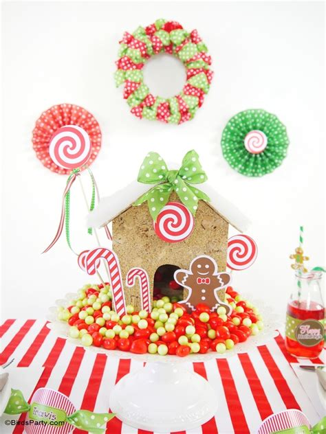 candyland christmas tablescape kids holiday table
