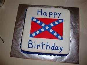 Confederate Birthday - CakeCentral com