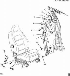 2012 Chevrolet Captiva Belt Kit  Seat Belt  Belt Kit  D