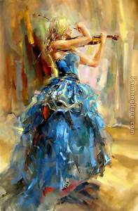 Anna Razumovskaya Dancing With a Violin 2 painting anysize ...