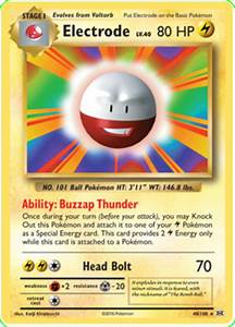 Electrode - Evolutions #40 Pokemon Card