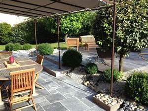 amenagement terrasse avec pergola With jardins et terrasses photos 1 toits terrasses amenagements pierijardins fr