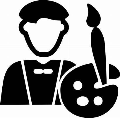 Icon Artist Svg Male Onlinewebfonts Registration Artid