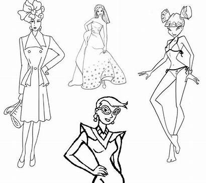 Coloring Pages Printable Outline Adults Colouring Clothing
