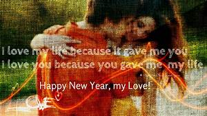 Happy New Year 2015 Greeting Card for Lovers-Romantic ...