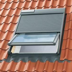 Volet Roulant Pour Velux : volet roulant solaire velux ssl taille au choix le ~ Dailycaller-alerts.com Idées de Décoration