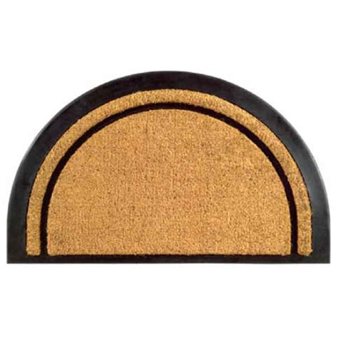Half Circle Doormat by York Half Doormat By Imports Decor In Doormats