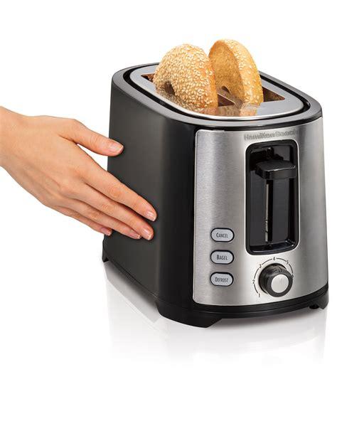 Best Slimline Toaster by Hamilton 22633 Wide 2 Slice
