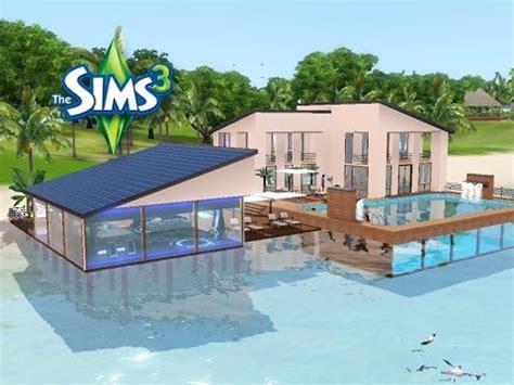 Traumhäuser Mit Pool by Sims 3 Haus Bauen Let S Build Traumhaus Mit Pool Im