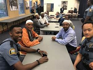 St. Paul police officers, community members gather to ...