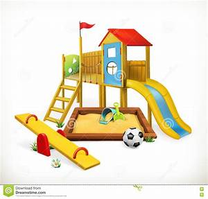 Playground, Vector Illustration Stock Vector - Image: 71144392