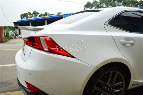 Painted For Lexus Is250 Is350 Is300h F-sport F Type Rear