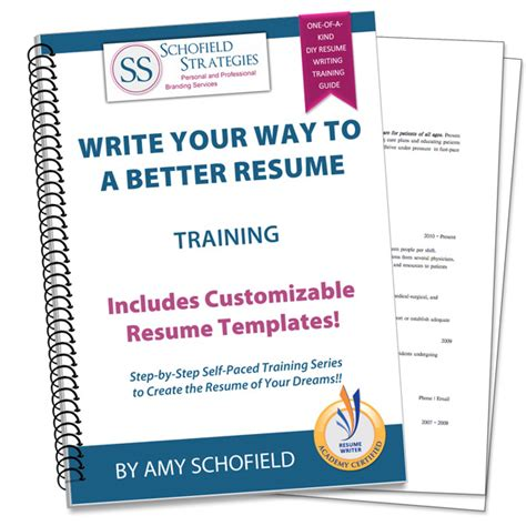 write your way to a better resume plus templates
