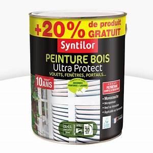 Castorama Peinture Exterieure : peinture bois exterieur blanc brillant ~ Premium-room.com Idées de Décoration