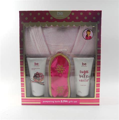 Kmart Bath Gift Sets by Be Bath Escapes Bath Robe Gift Set Berry Vanilla