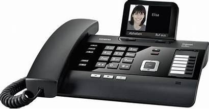 Gigaset Telefon Anrufbeantworter Dl500a Farbdisplay Schwarz Analog
