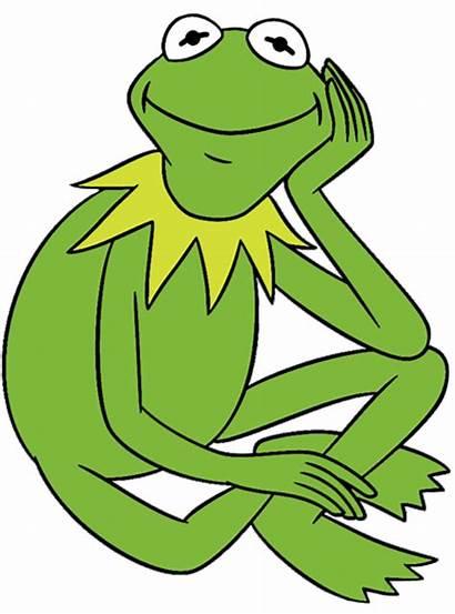 Kermit Clipart Frog Clip Muppets Disney Miss
