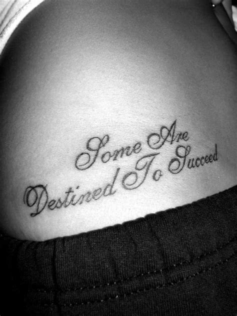 Ideas for Life Quote Tattoos | Tattoo Ideas Mag