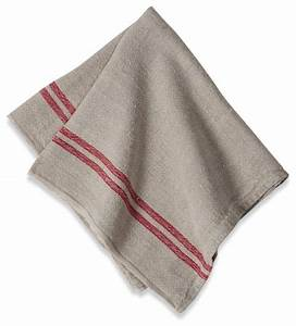 Linen Napkins, Red Stripe, Set of 4 - Traditional