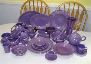 Fiestaware Color Chart Lilac Fiestaware The Most Expensive Only Made It For A