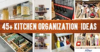 organization ideas for kitchen 45 small kitchen organization and diy storage ideas
