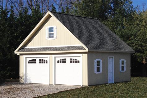 Cost Of 2 Car Garage by 2 Car Garage With Attic Space Prices For 2017 Included