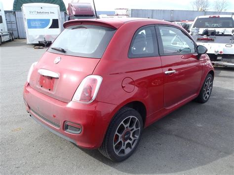 Mobil Fiat 500 by 2014 Fiat 500 Sport Hatchback Burnaby Incl New