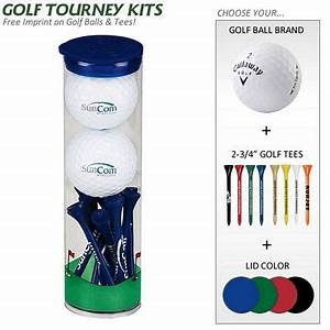 For the Golf Lovers Promotional Golf Gift Tube 2 Golf