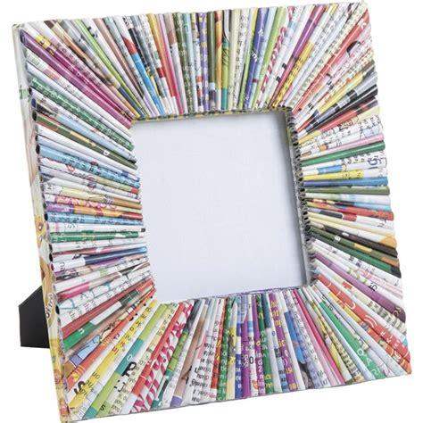 cadre photo en papier cadre photo carr 233 en papier recycl 233