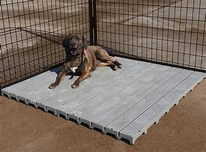 Dog kennel flooring kennel decking raised flooring for Puppy dog kennels