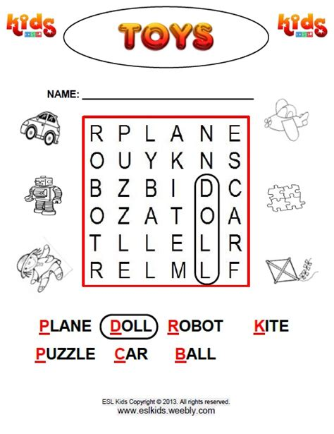 word search easy activities games  worksheets  kids