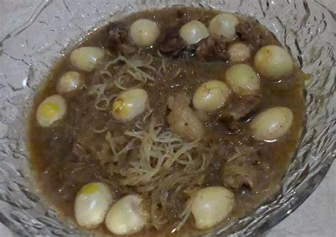 15 btr telur puyuh, rebus kupas 70 g jamur kuping 70 g jamur merang. Resep Semur daging,telur puyuh campur bihub oleh Nia ...